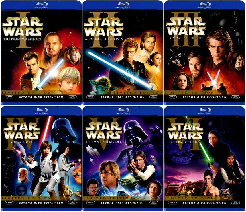 star Wars vs Star Trek · Star Wars Blu-Ray 2011 · star Wars Bloopers (4,5,