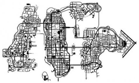 GTA4 Map