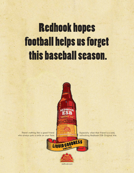 One of Redhook's promotional posters