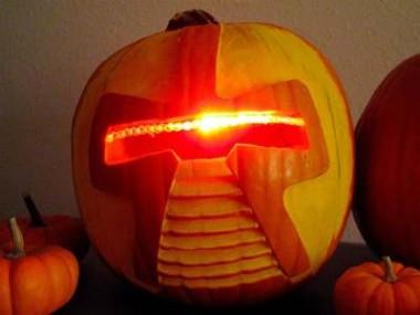 Battlestar Galactica Pumpkin