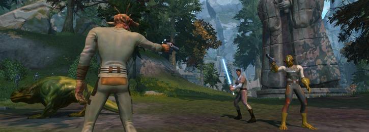 Smuggler and Jedi