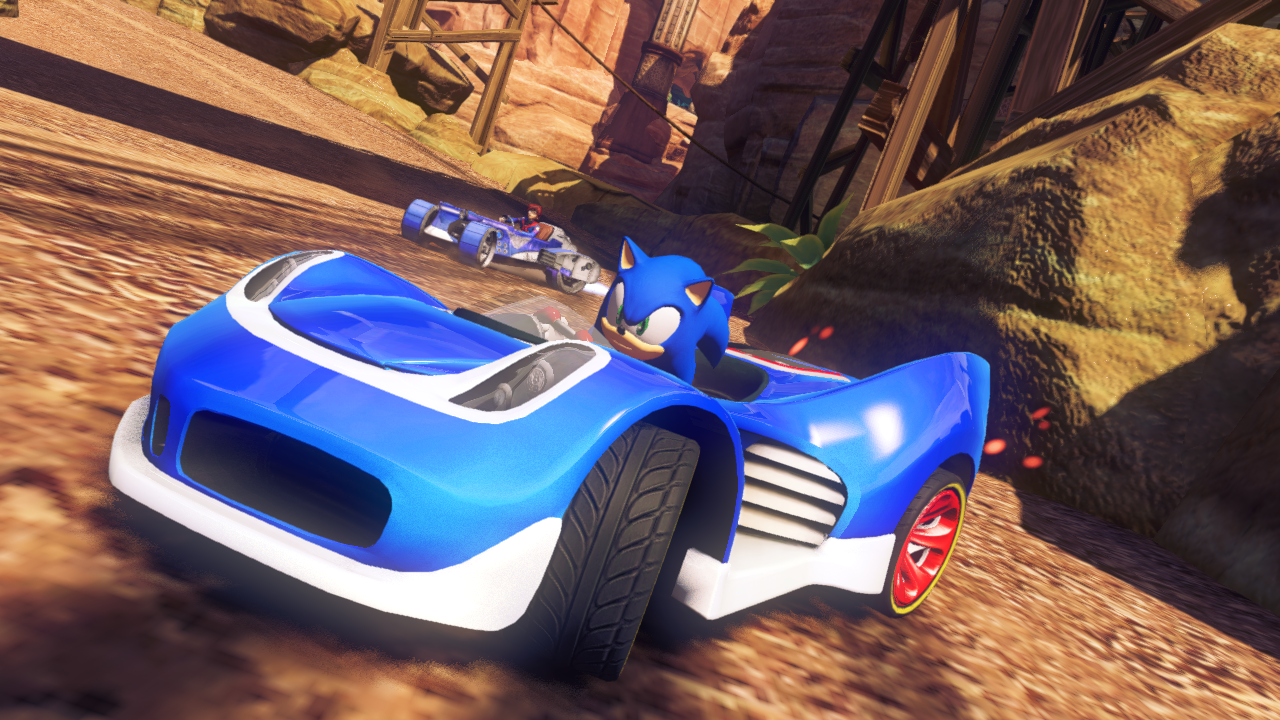 Preview Sonic Amp All Stars Racing Transformed