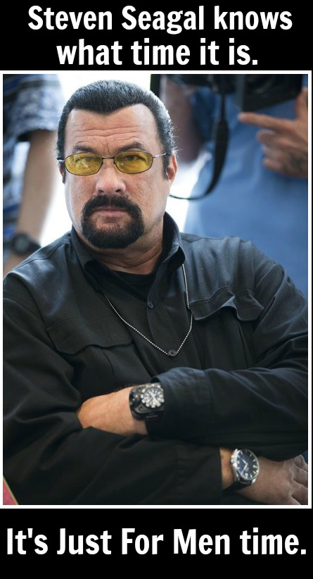 Steven Seagal - Just For Men