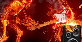 Skelet_on_fire_smashing_guitar_on_speaker_Wallpaper_1ct02-3770