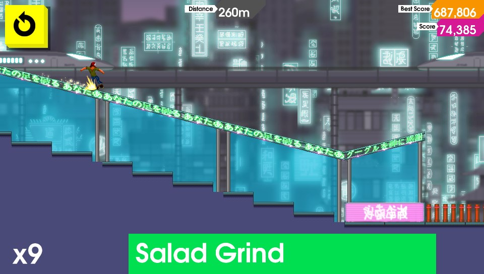Neon Salad Grind