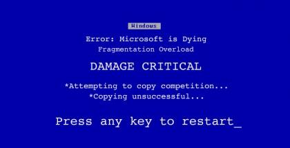 Microsoft Dying